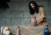 Great Passion Play Marketplace: Parables of the Potter, and Davi