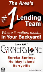 Cornerstone Bank in Eureka Springs