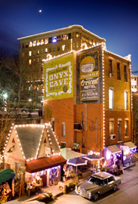 Downtown Eureka Springs Takes On A Whole Different Life At